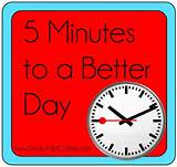 5 Minutes to a Better day
