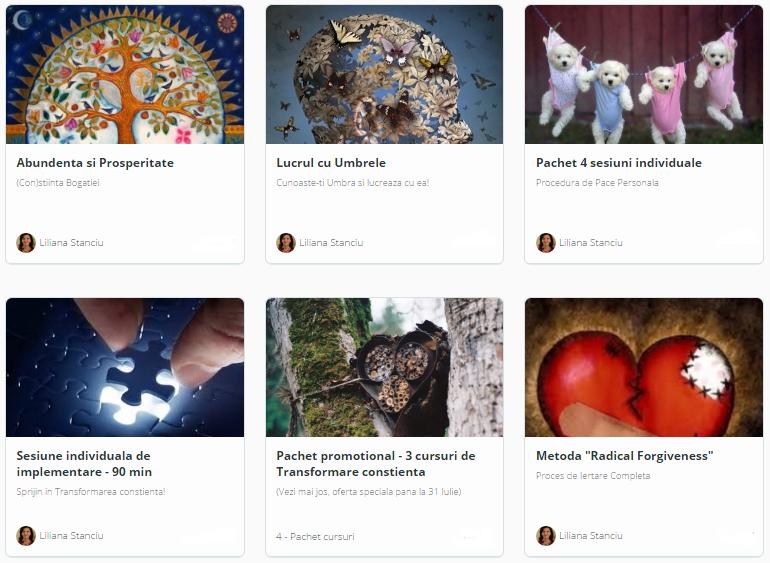 Platforma de cursuri online Infobliss.ro – tehnici energetice, transformare si crestere spirituala