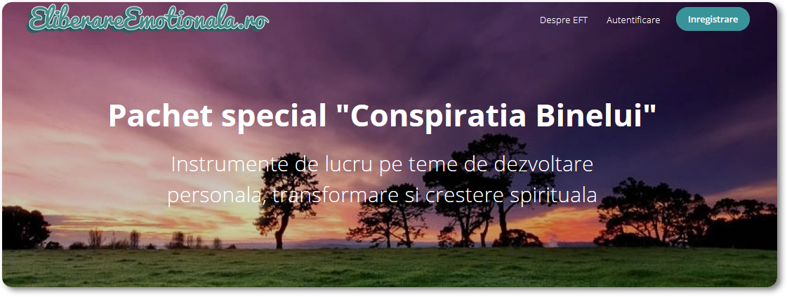 Conspiratia Binelui – Instrumente practice